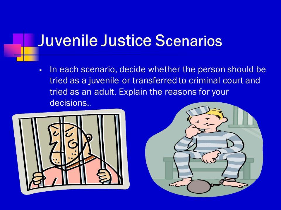 juvenile transfer to the criminal justice