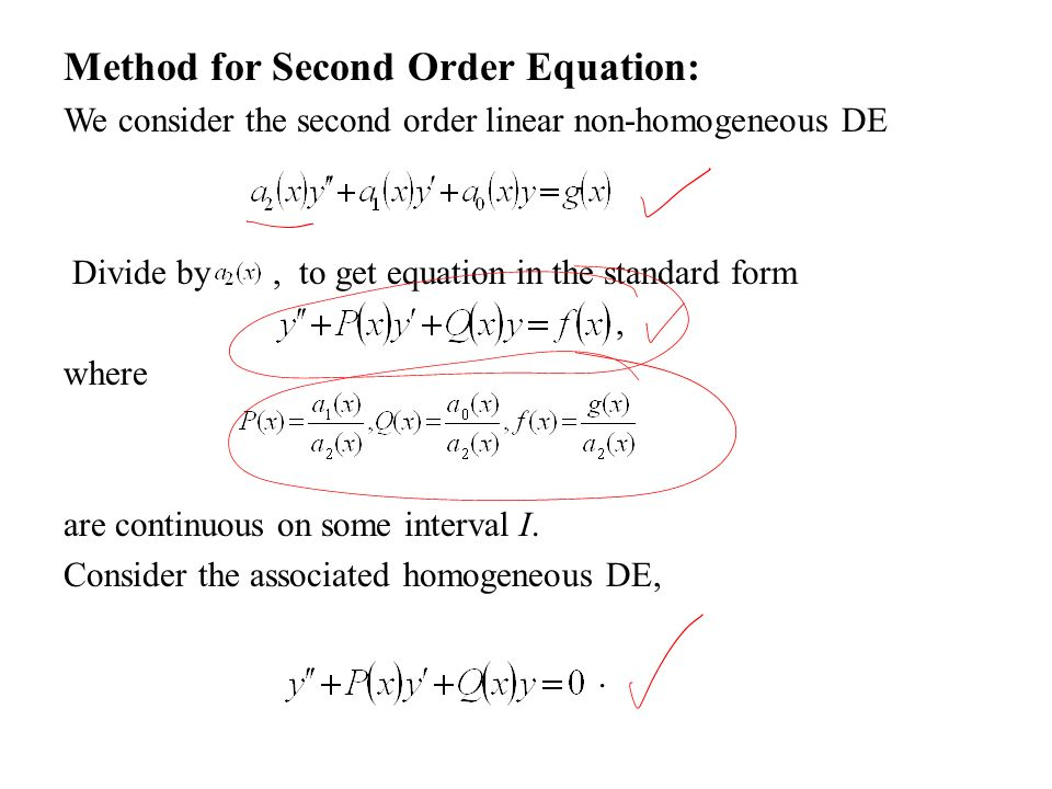 Differential Equations MTH 242 Lecture # 13 Dr. Manshoor Ahmed ...
