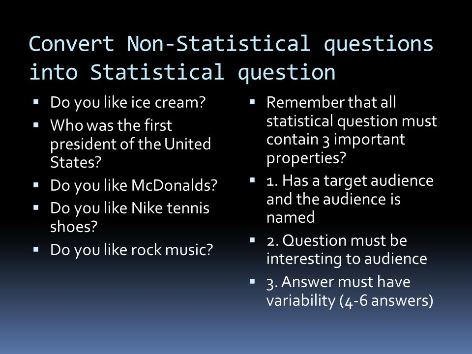 statistics quiz week 5 This quiz will review the fundamentals of probability and statistics you will be asked to find the mean, median, mode, and range of a set of data you will be asked to interpret graphs and tables to find mathematical conclusions you will also be asked to choose the best graphical representation of.