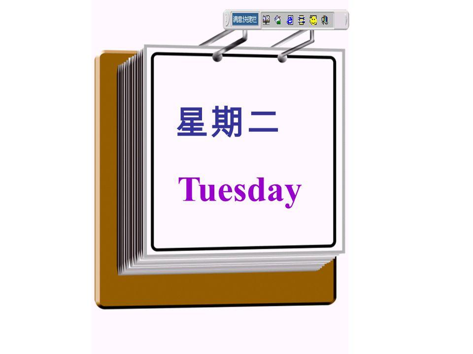 上个星期天用英语怎么说