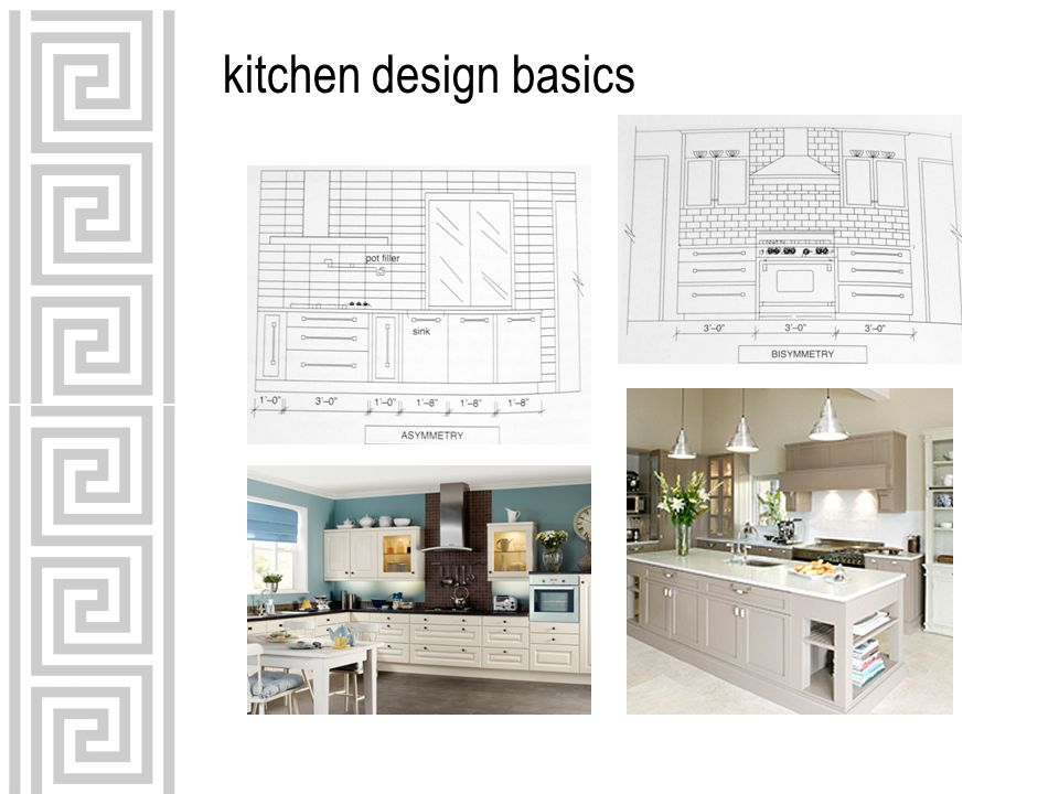 7 Kitchen Design Basics INTD 59  Use Guidelines As A Way To Check The