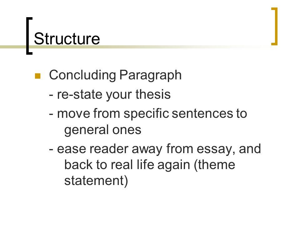 college essay conclusion paragraph