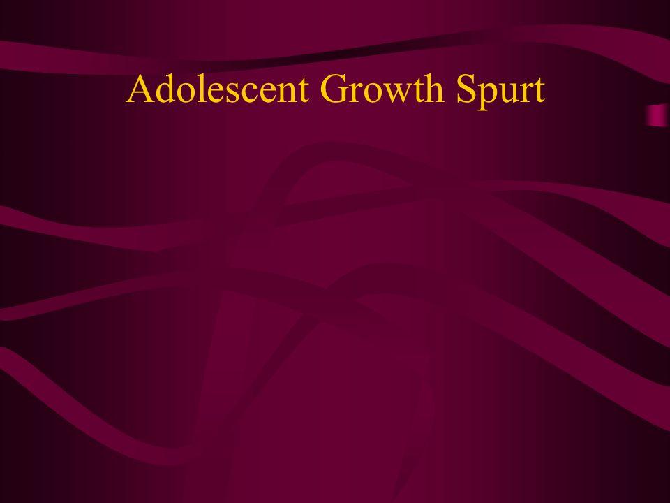 Adolescent Growth Spurt
