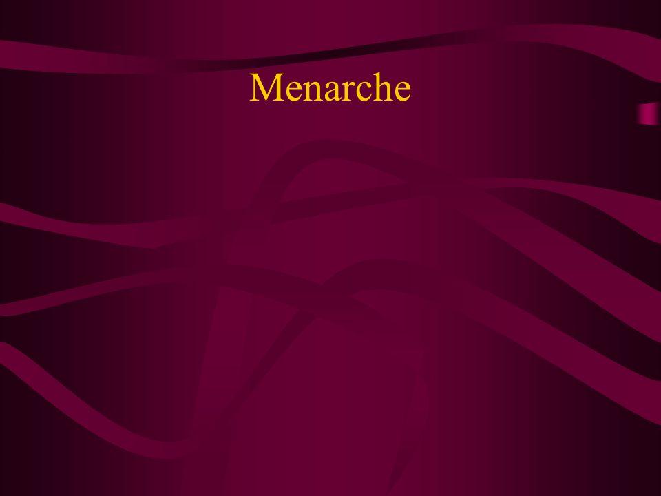 Menarche