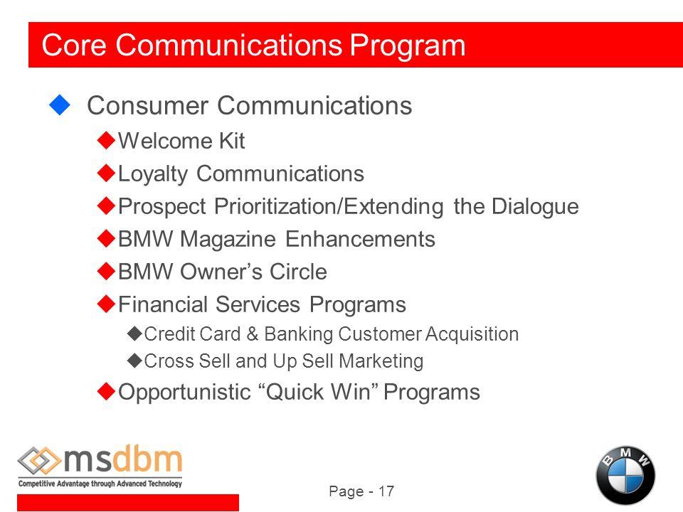 bmw marketing channel