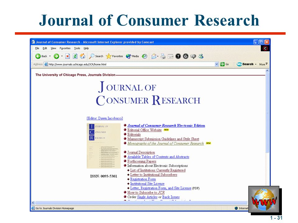 1 - 1 Chapter 1 Consumers Rule By Michael R. Solomon Consumer