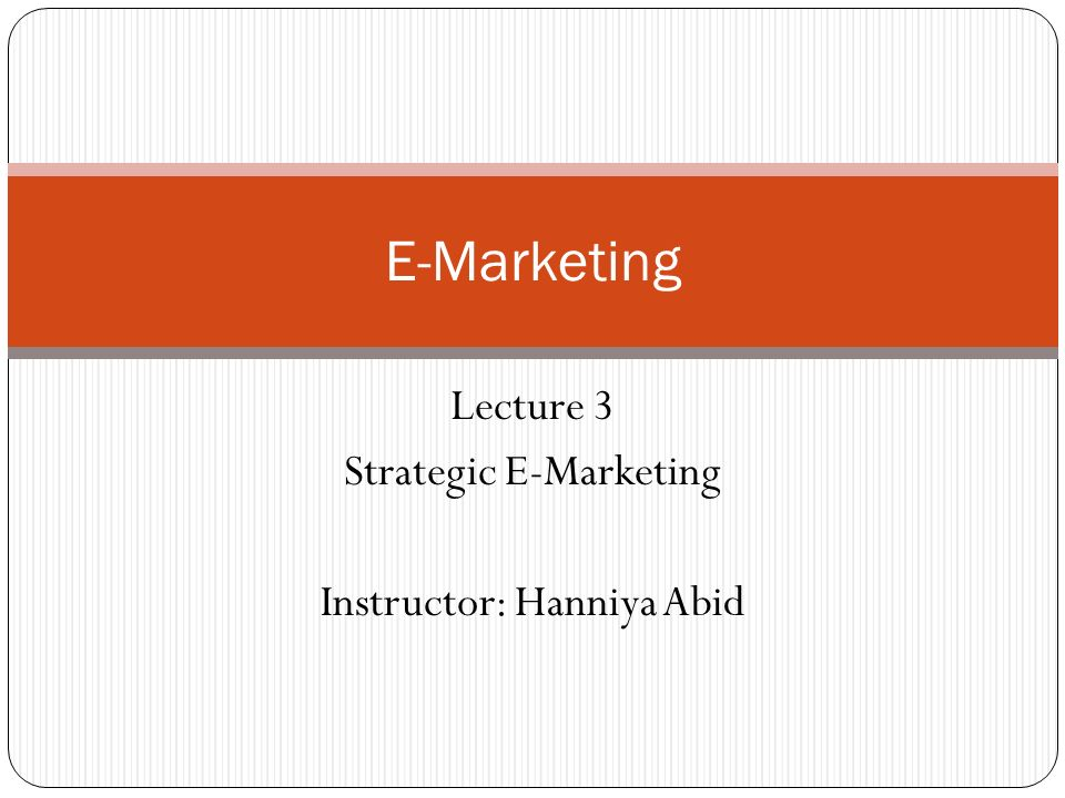 E-Marketing Activity-Level E-Business Models 2-12 1.