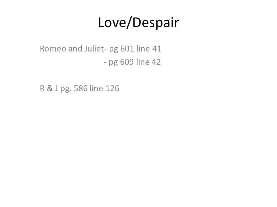figurative language simile metaphor personification imagery ppt 7 love despair romeo and juliet pg 601 line 41 pg 609 line 42 r j pg 586 line 126