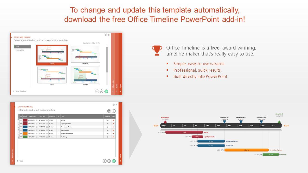 Office Timeline 1 Free timeline maker amp Gantt chart creator
