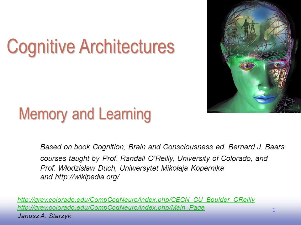 EE141 1 Memory and Learning Janusz A.