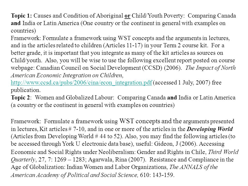 term lecture essay topics frame works topic causes and  topic 1 causes and condition of aboriginal or child youth poverty comparing