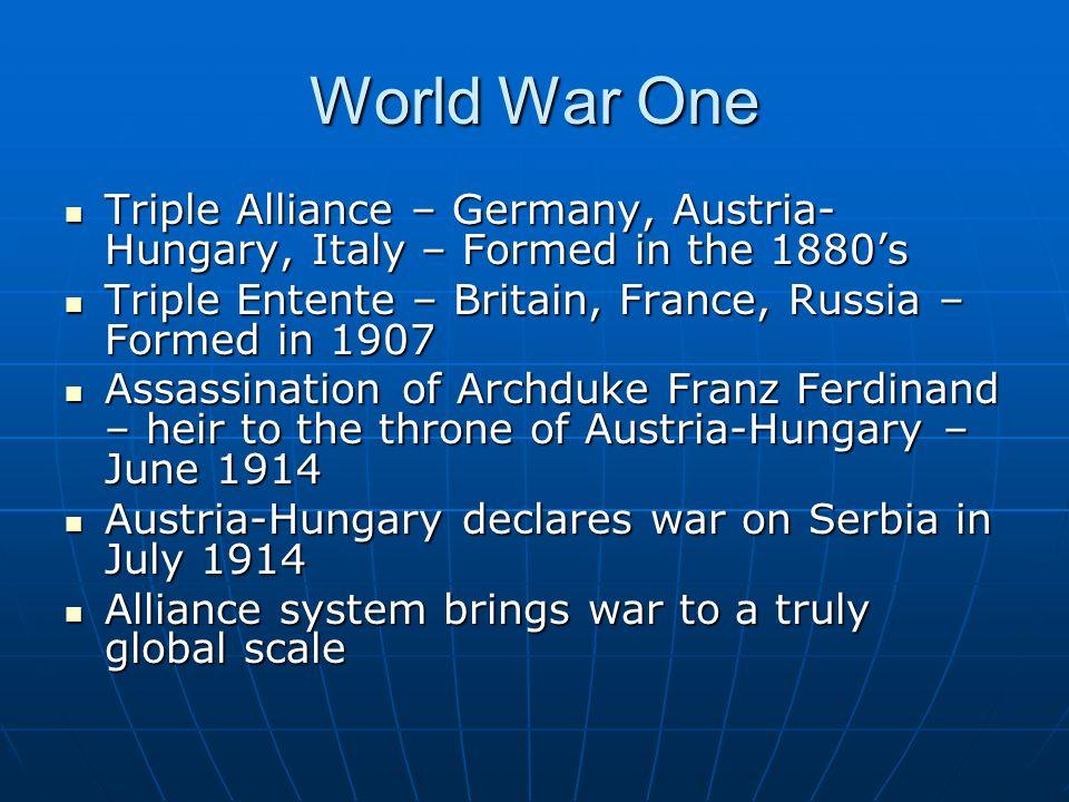 triple entente world war 1