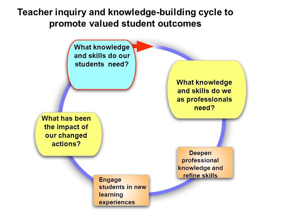 What knowledge and skills do our students need.