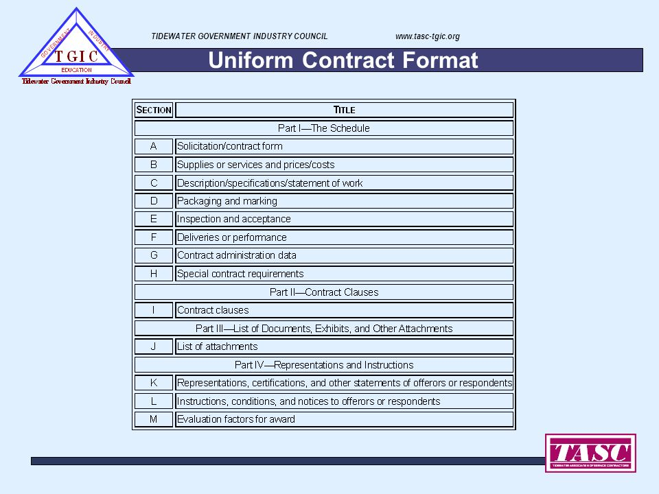 uniform contract format - Mersn.proforum.co