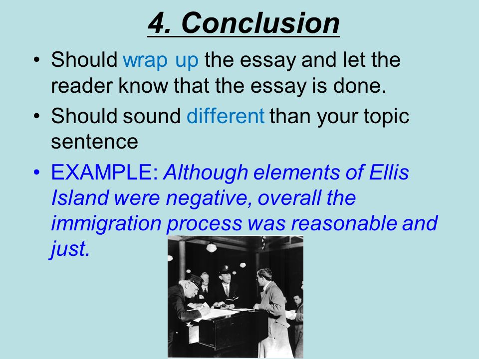 english literature essay conclusion This handout provides examples and description about writing papers in literature ( you're not writing an essay to list works that.