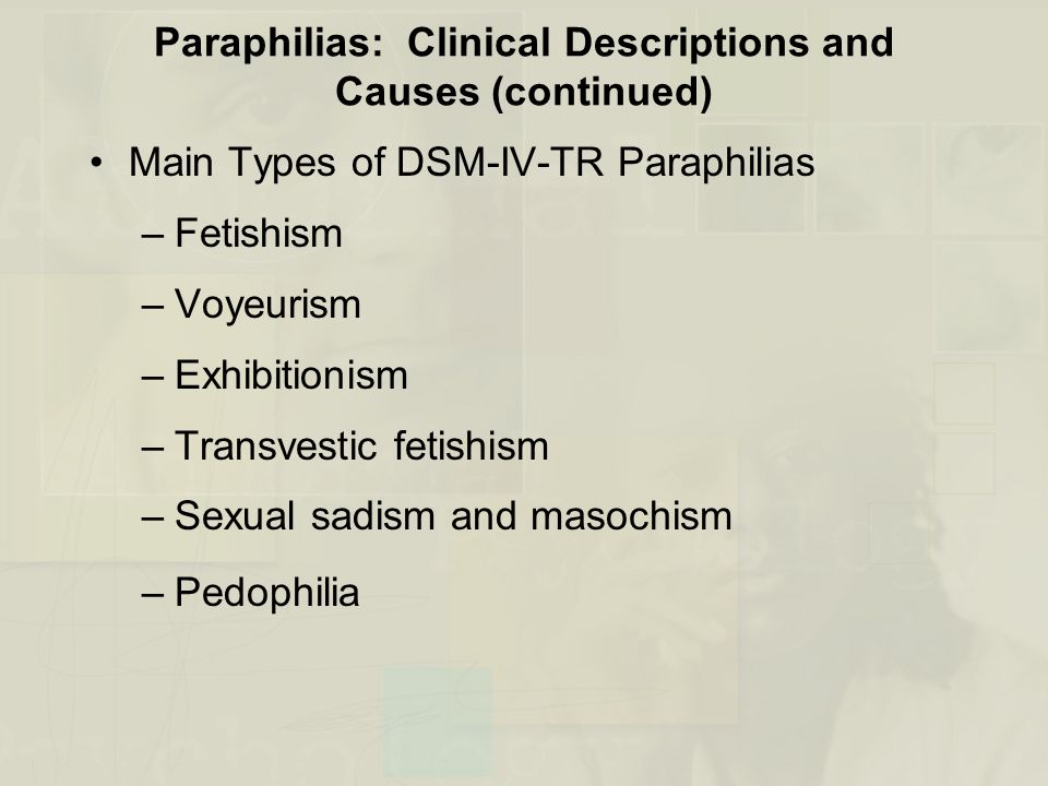 an overview of transvestic fetishism