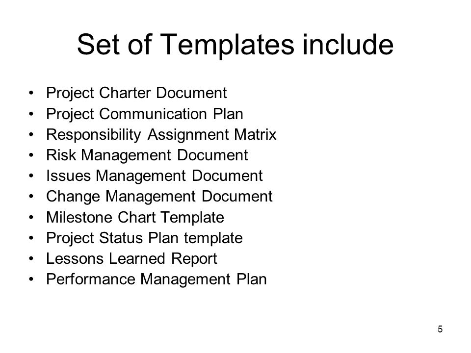 Advanced Project Management Project Plan Templates Ghazala Amin