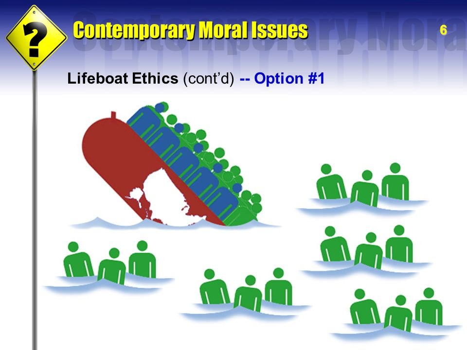 lifeboat ethics analysis essay Lifeboat ethics is a metaphor for resource distribution proposed by the ecologist garrett hardin in 1974 hardin's metaphor describes a lifeboat bearing 50 people, with room for ten more the lifeboat is in an ocean surrounded by a hundred swimmers.