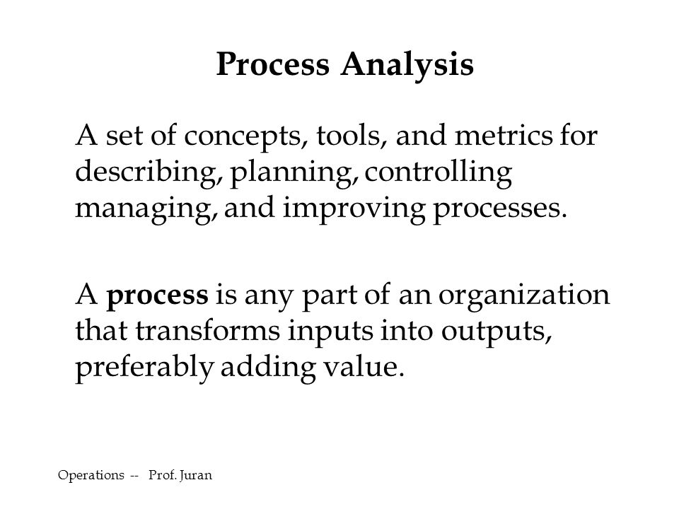 Example Of A Process Analysis Essay