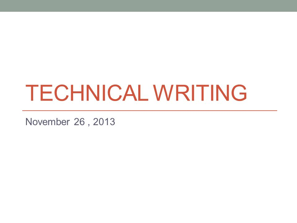 Technical Writing November  Another Kind Of Business Letter The