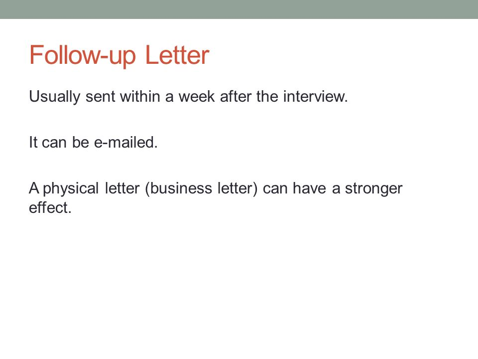 Technical Writing November 26, Another Kind Of Business Letter The