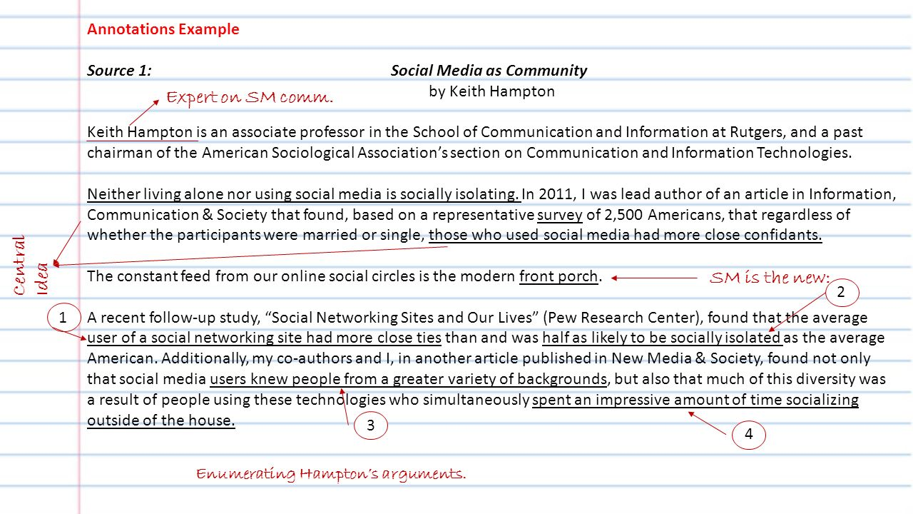 Argumentative Essay About Social Media