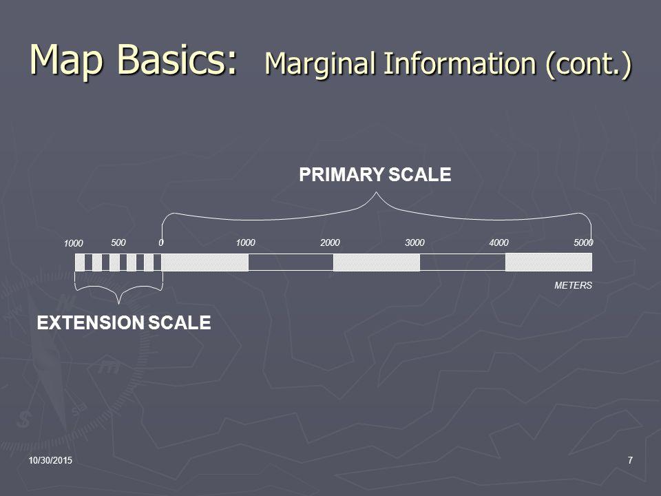 Land Navigation I Presentation Overview Map - Us map marginal lands