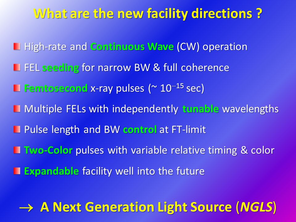 What are the new facility directions .