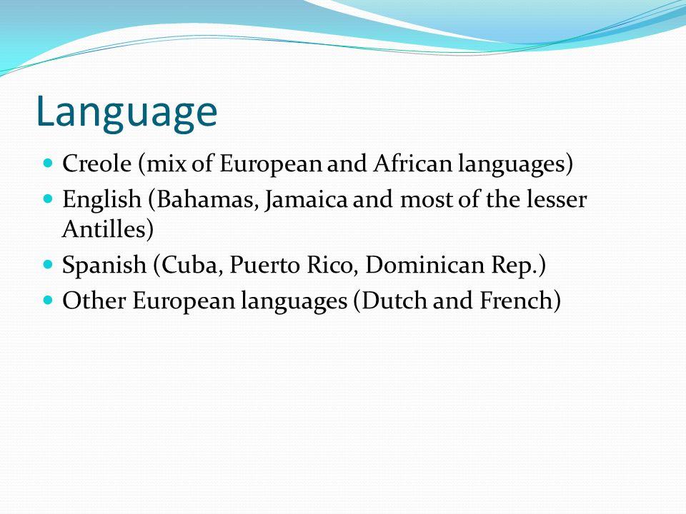 Bahamas Language