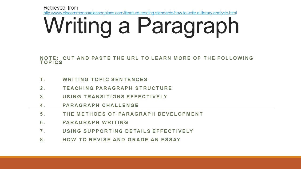 note writing topics