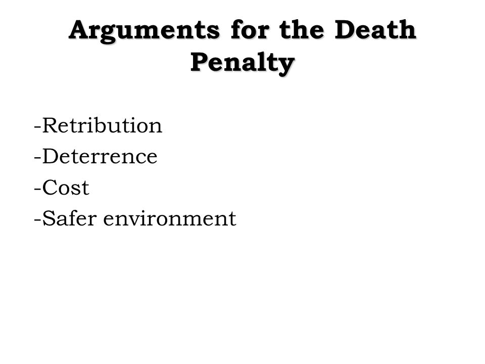 does deterrence work essay The studies have been the subject of sharp criticism, much of it from legal scholars who say that the theories of economists do not apply to the violent world of crime and punishment.