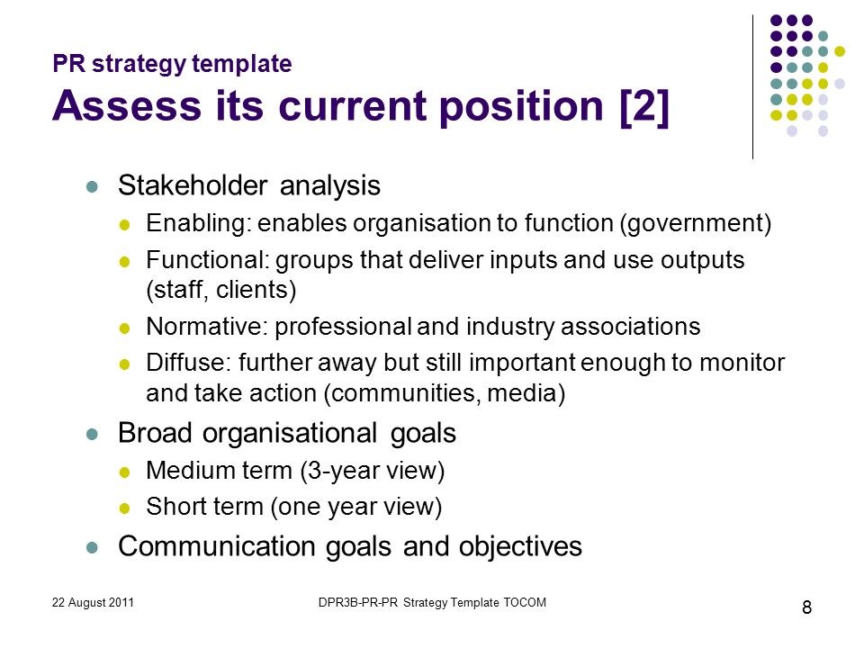 Nice Government Relations Strategy Template Images >> Sample ...