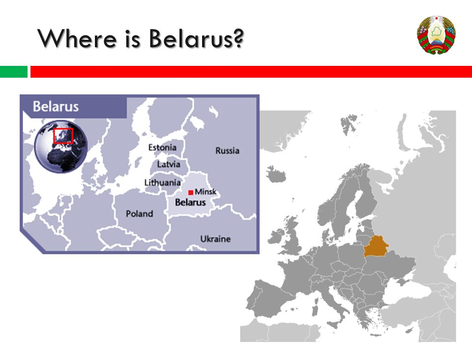 BELARUS A Presentation By The Model United Nations Club Ppt - Where is belarus