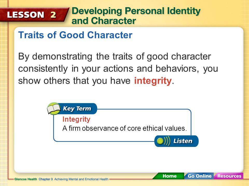 Traits of Good Character Six Traits of Good Character TrustworthinessRespectResponsibility FairnessCaringCitizenship