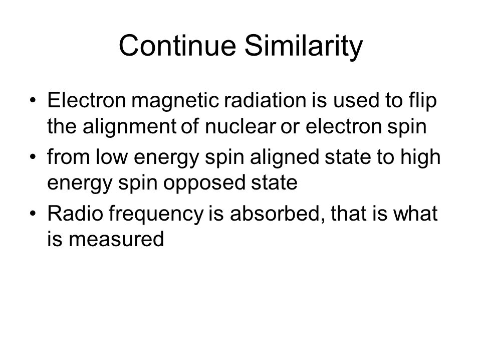an analysis of the measurement of nuclear and electron magnetic resonance on bulk materials by felix Structural biochemistry/proteins/nmr spectroscopy nuclear magnetic resonance said to be shielded from the magnetic field strength by its electron.