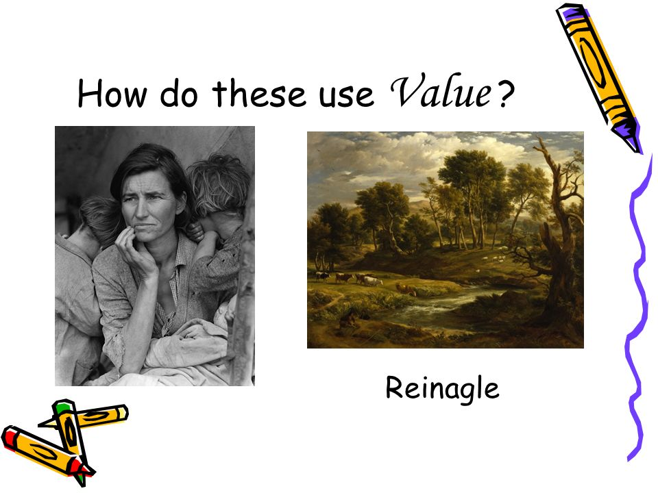 How do these use Value Reinagle