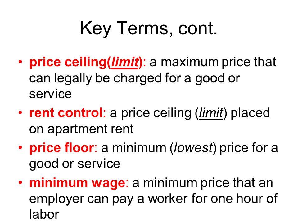 4 Key Terms ...