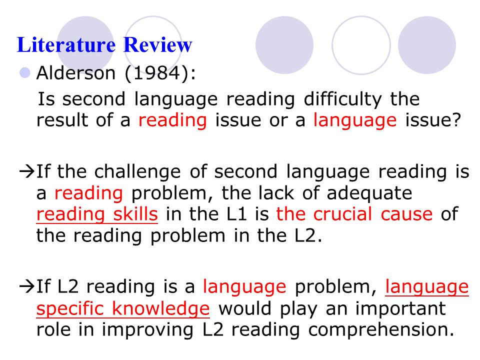 literature review on reading difficulties Chapter ii review of related literature a reading westwood, reading and learning difficulties a process to teaching and assessment, 26 20 a interest.