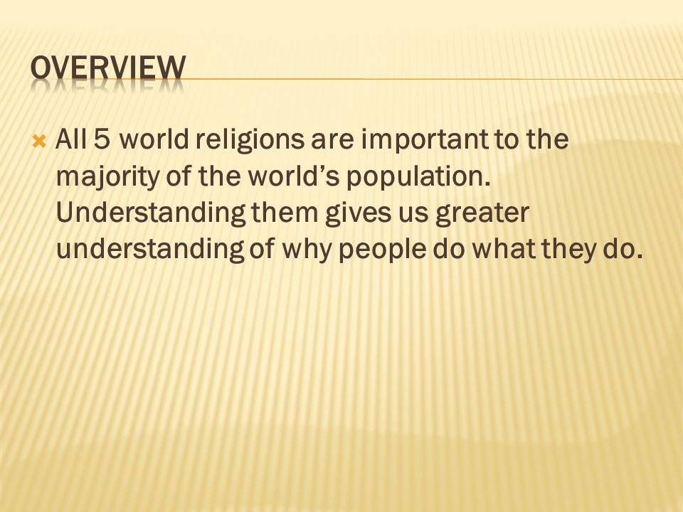 FACTS Name The Most Influential World Religions Which - Which religion has most followers