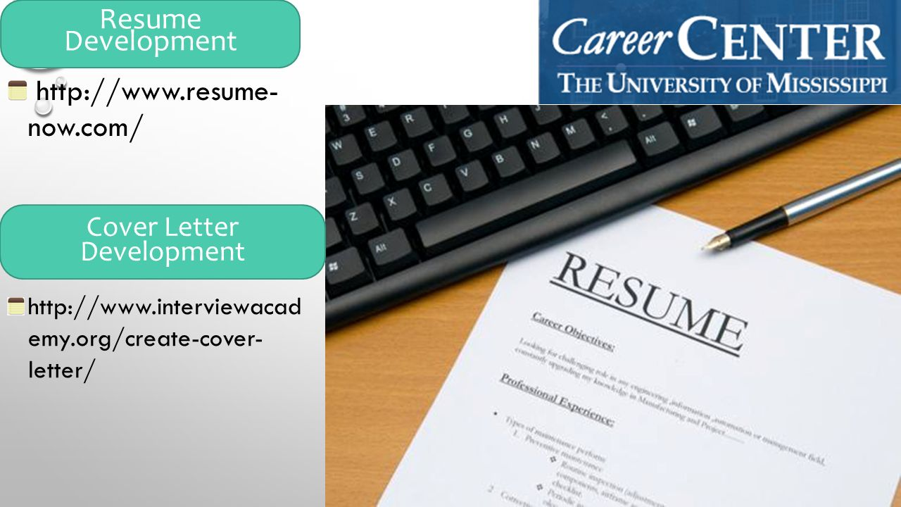 14 httpwwwresume nowcom resume development httpwwwinterviewacad emyorgcreate cover letter cover letter development