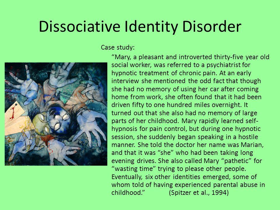 paula's story a case study of dissociative identity disorder