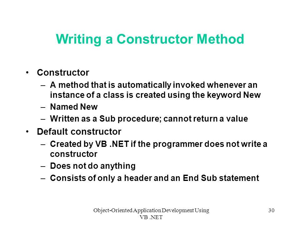 method of development essay writing