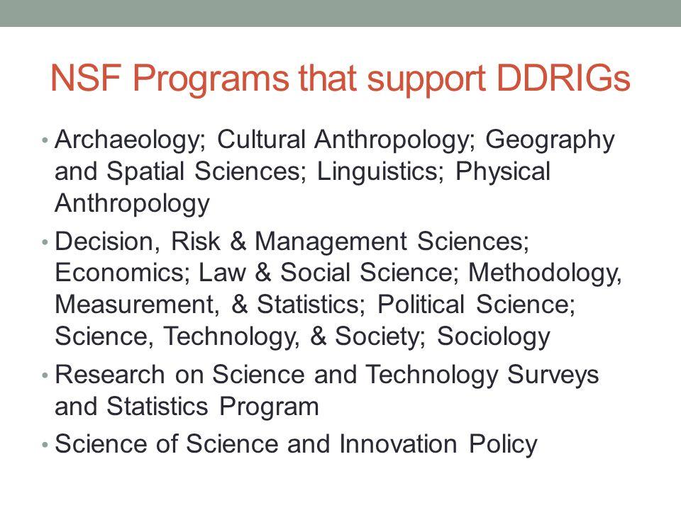 Social  Behavioral and Economic Sciences Nancy Lutz  Program     Diamond Geo Engineering Services