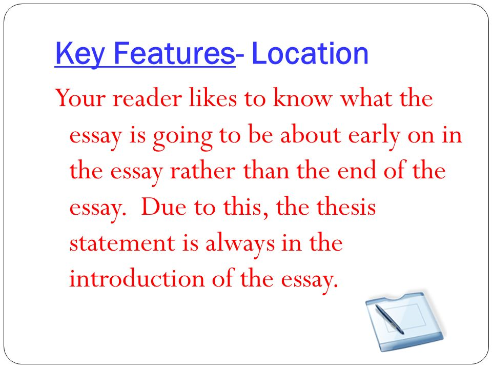 the roadmap of your essay the thesis statement introduction by the a complete sentence another example marcus garvey and the harlem renaissance