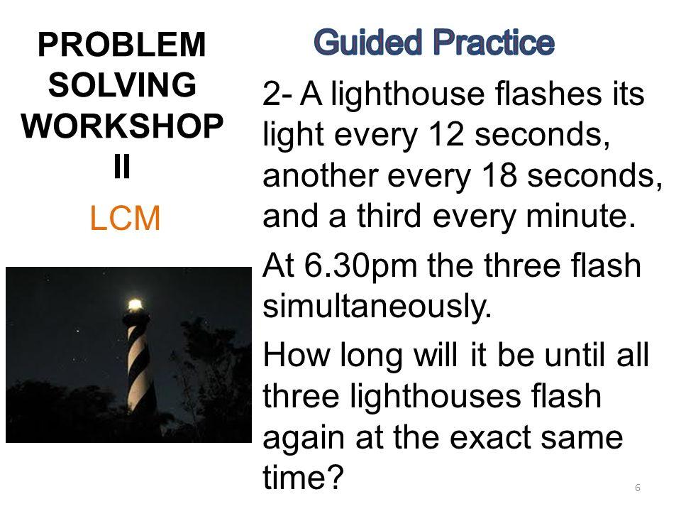 Hcf lcm word problems worksheets