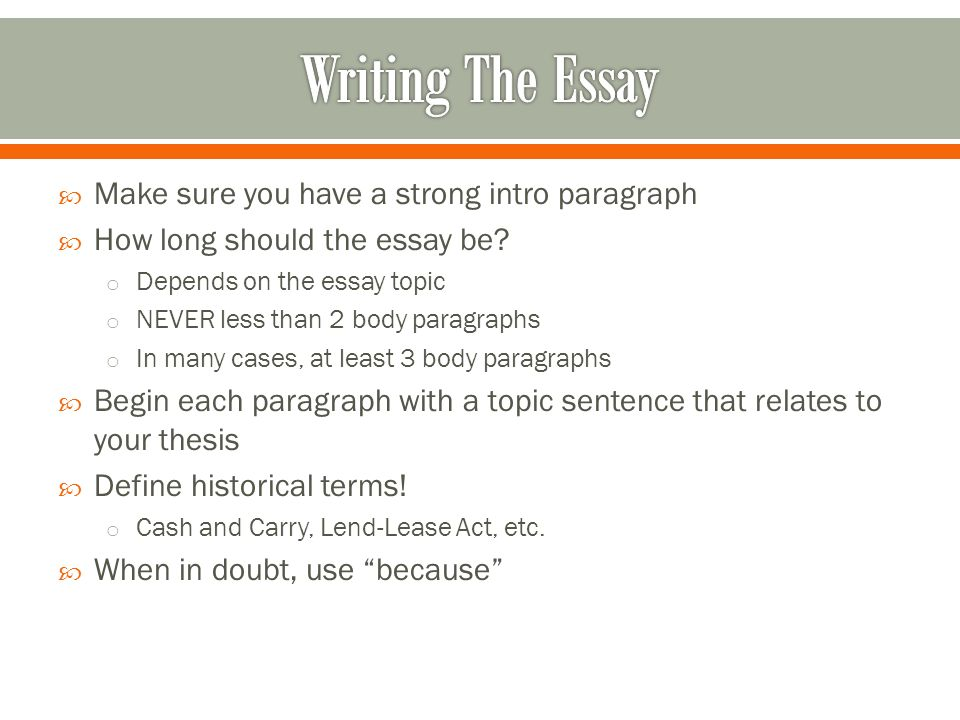 how long should an extended essay conclusion be Unnecessary information: your conclusion should be concise how long should my conclusion be the length of your conclusion will depend on a number of variables, including the school in which you are studying and the number of elements you are expected to include.