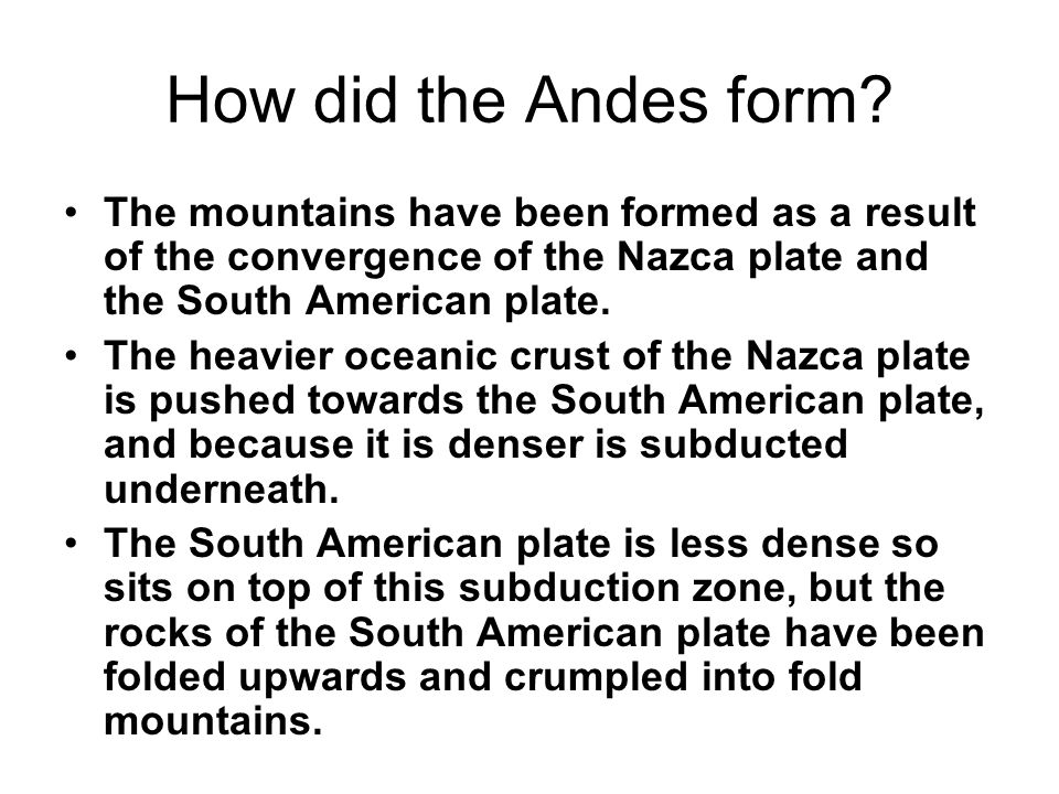 Where are the major mountain ranges located? How many mountain ...