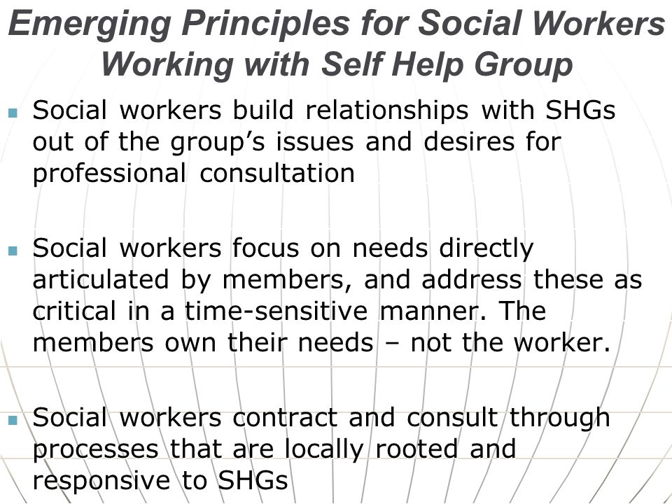 sensitive groups and social issues