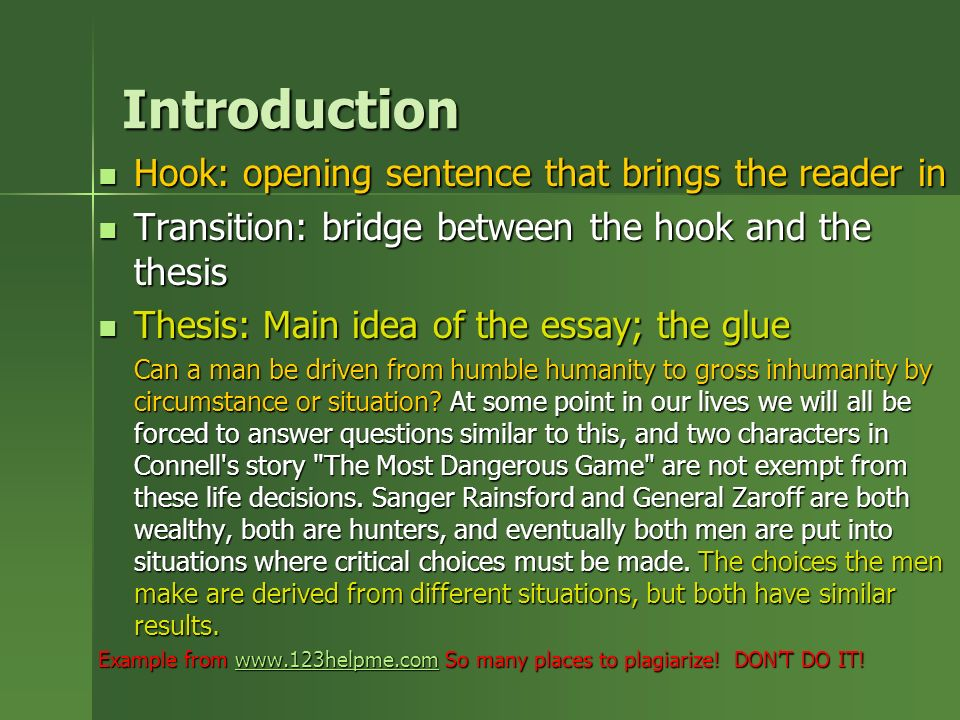 essay intorductions