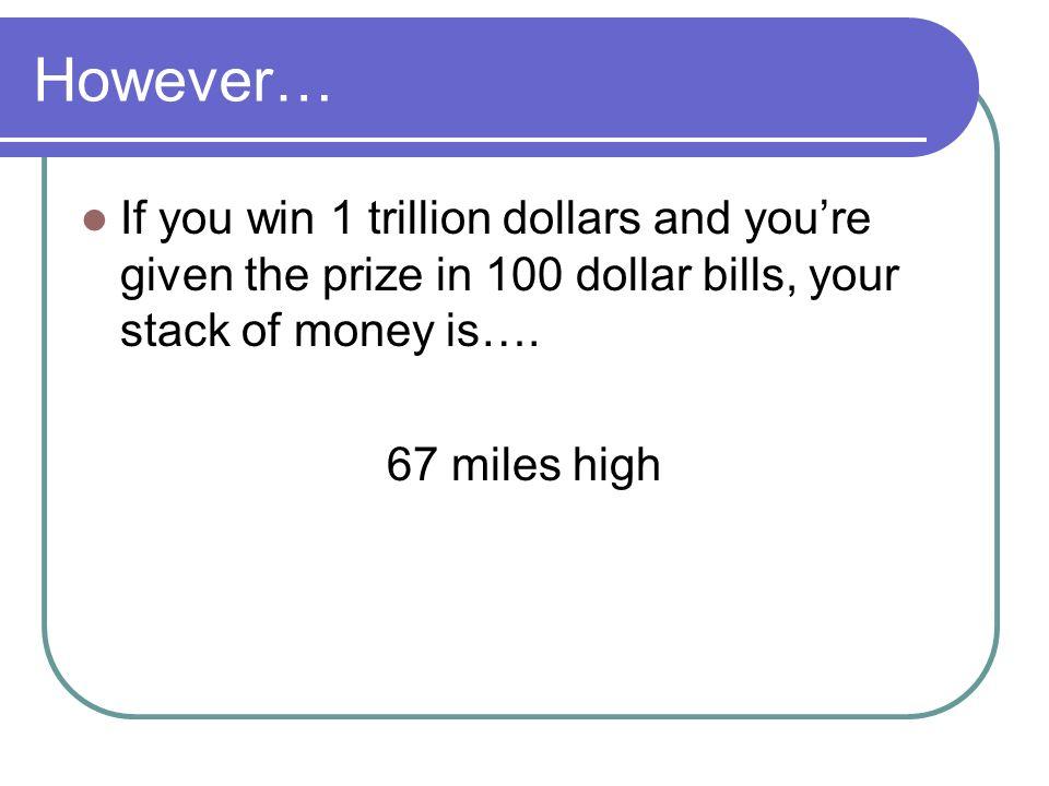 How To Write 1 Million Dollars 100